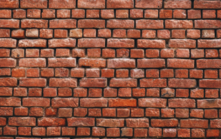 brick wall representing the one put together by David